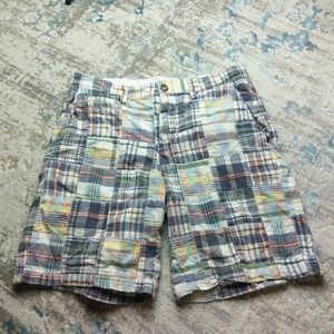 American Eagle Outfitters shorts 32 madras prep